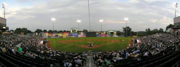 The Baseball Stadium Where the Race Ended