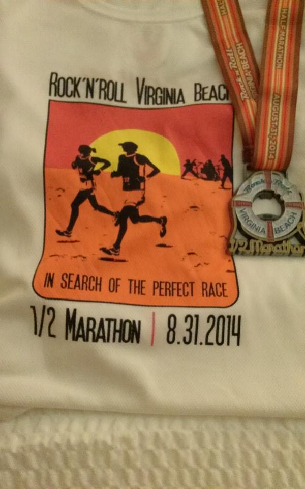 Race Shirt and Medal