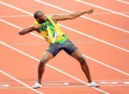 The international symbol for fast runner.